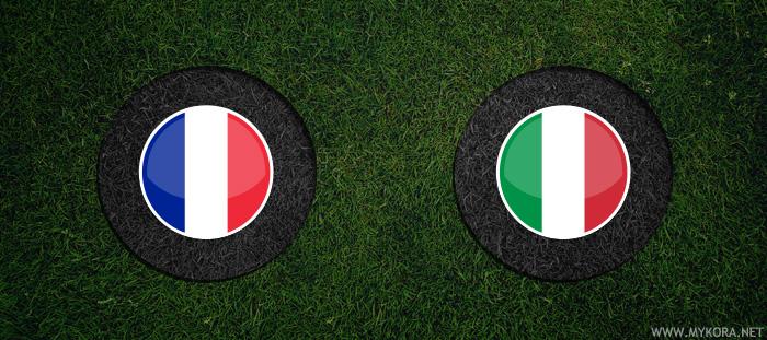 ايطاليا وفرنسا بث مباشر