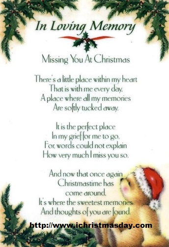 Missing Mom At Christmas.Christmas Card Poems For Parents Christmas Poems Kids To