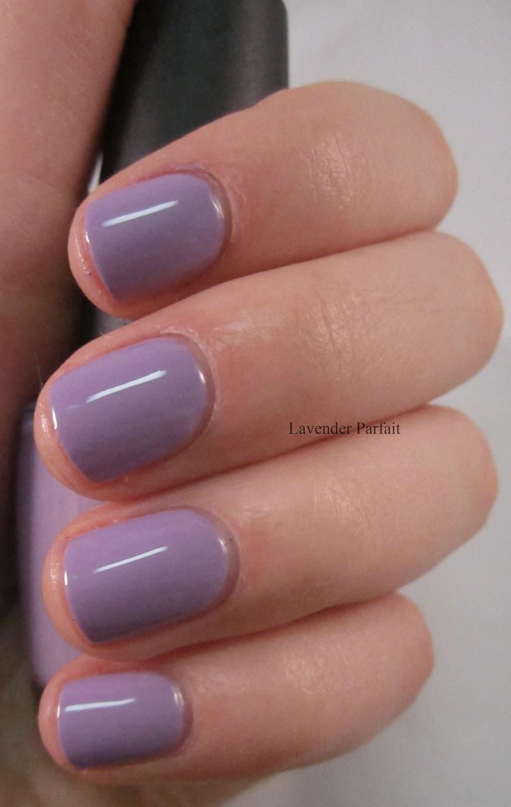 Lavender Parfait: OPI Do You Lilac It? and Clarins 230  Lavender Parfai...
