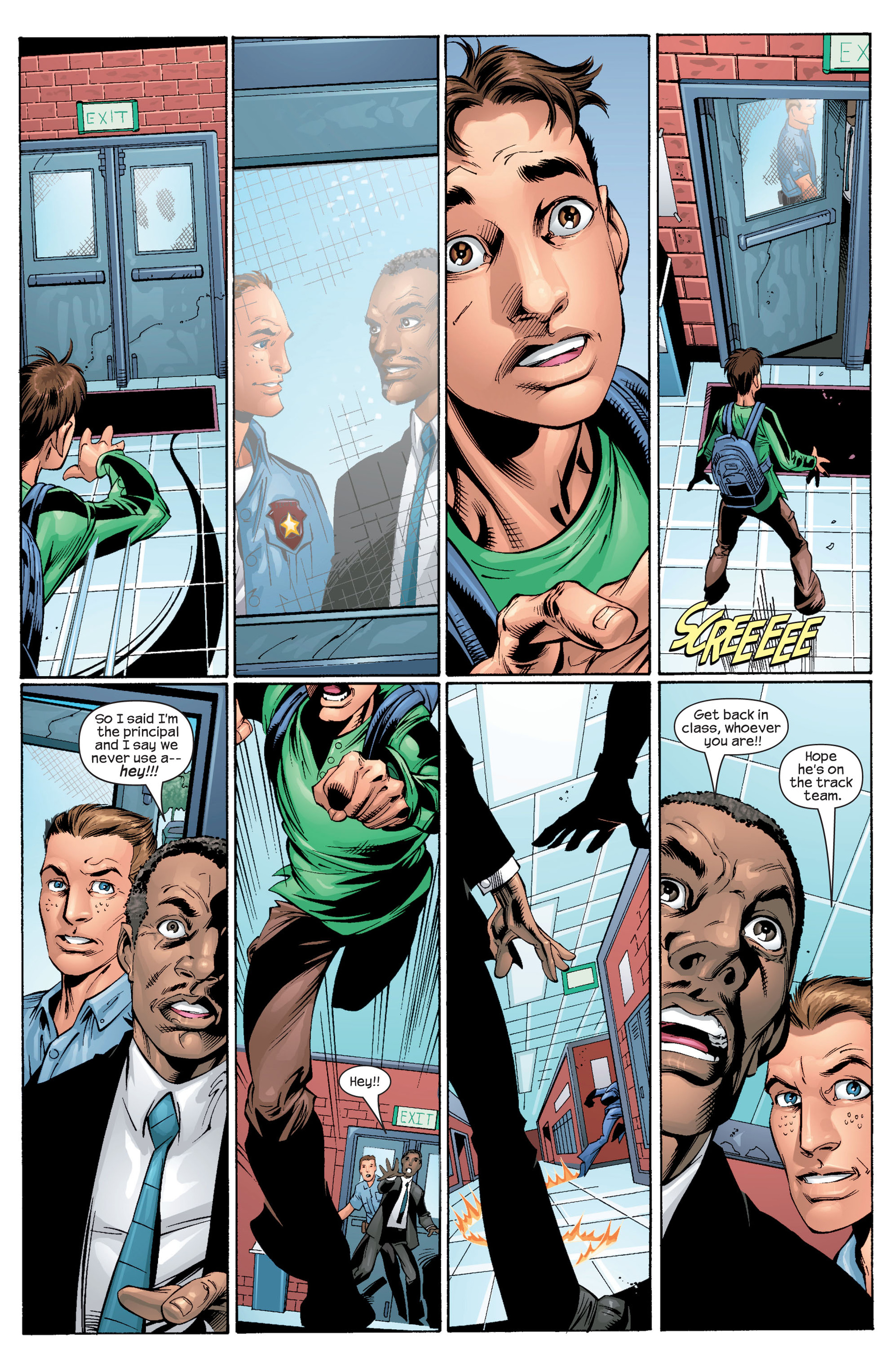 Read online Ultimate Spider-Man (2000) comic -  Issue #28 - 11