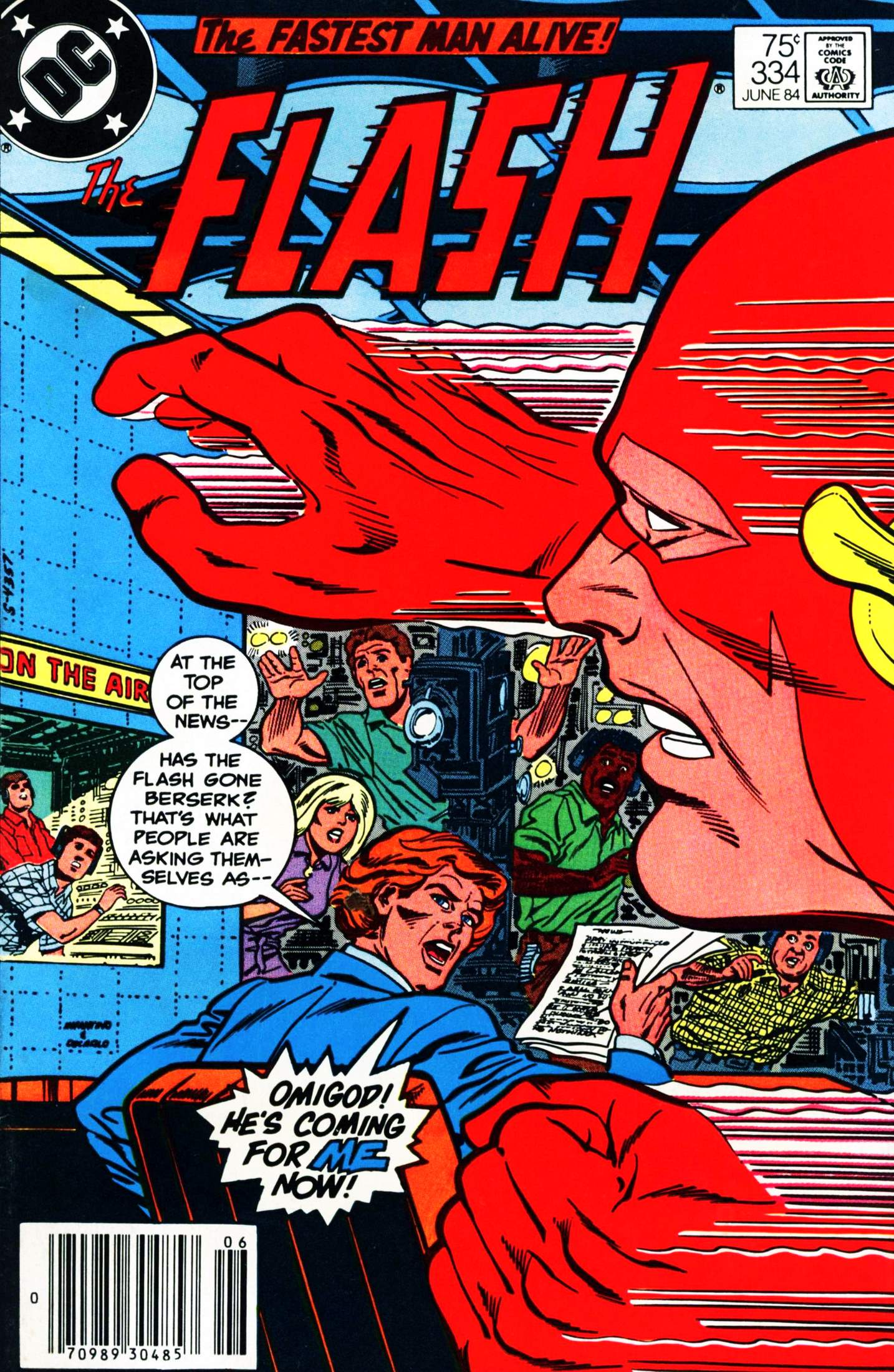 The Flash (1959) 334 Page 1