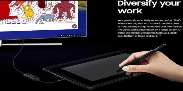 Samsung Galaxy Tab S4 10.5 Dengan DeX, S Pen