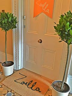 trees, copper, doormat