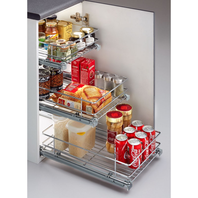 Casaenorden el mejor aliado para organizar tu cocina for Accesorios para interiores de armarios de cocina