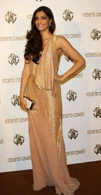 Sonam Kapoor identified as 'Miss Jooniberse' at Roberto Cavalli's Boutique Opening & Private Dinner on Yacht 2011 May.