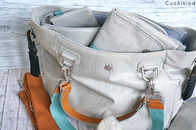 Schöne Wickeltasche
