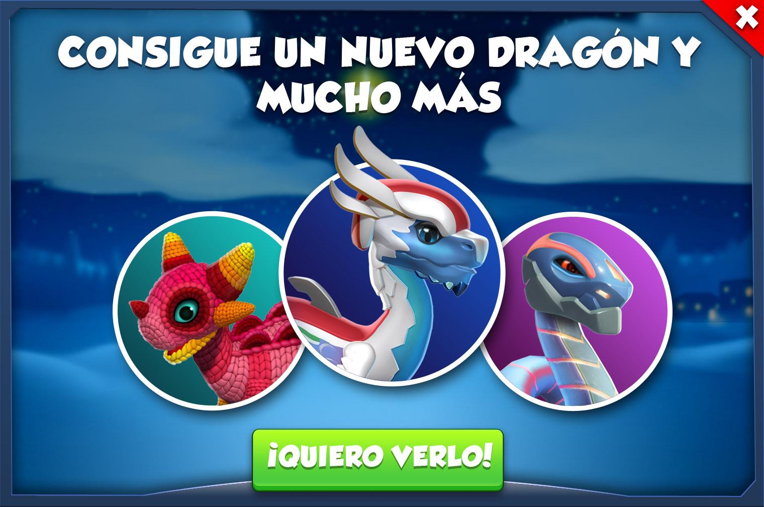 Evento: Carreras Heladas - Dragon Mania Legends