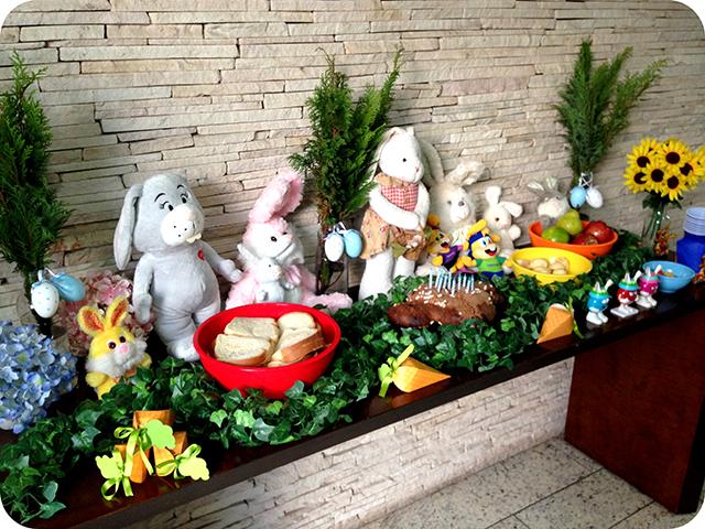 Decoração Festa / Aniversário / Mêsversário com o Coelhinho da Páscoa