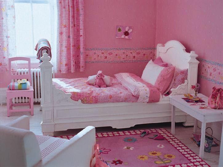 Dormitorios de ni as en color rosa ideas para decorar for Cuarto de nina rosa palido