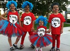 dr seuss thing 1 halloween costume costumes idea