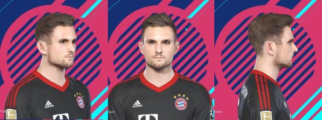 PES 2018 Ulreich Face by kelvinchan327