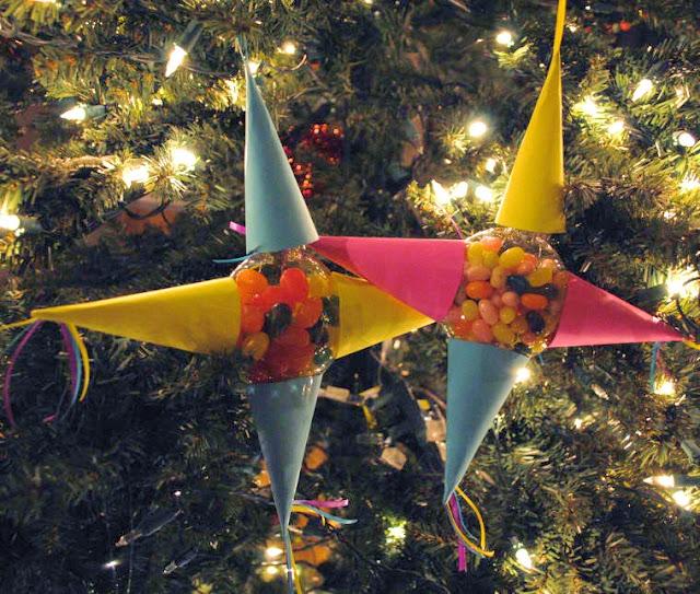 Christmas Ornament Make Pinata