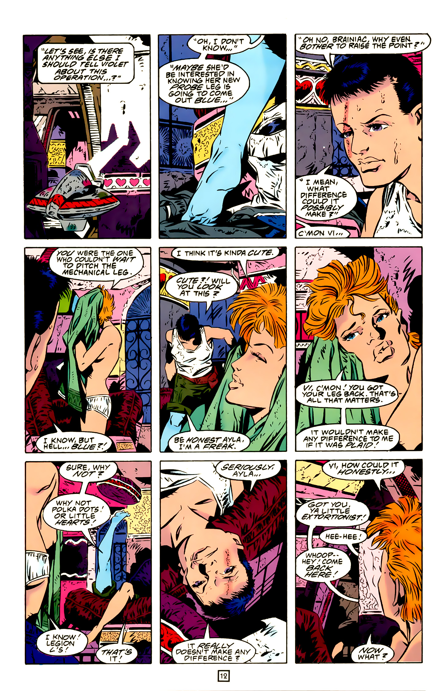 Legion of Super-Heroes (1989) 20 Page 12