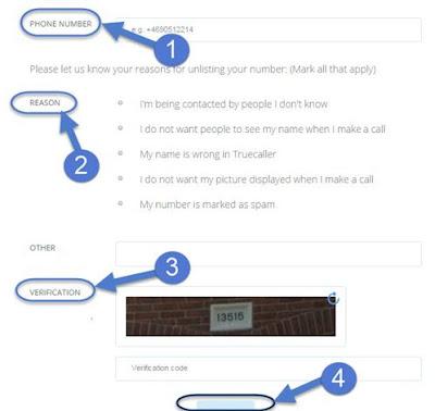 Image result for Truecaller search se apna naam or number kaise hataye ya unlist ya remove kare