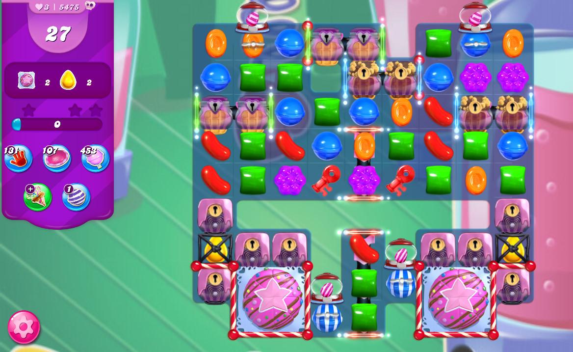 Candy Crush Saga level 5475
