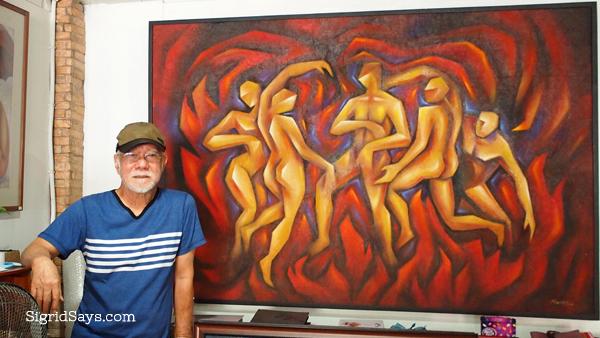 Bacolod artist - Rodney Martinez - Bacolod painter