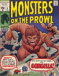Read Monsters on the Prowl comic online