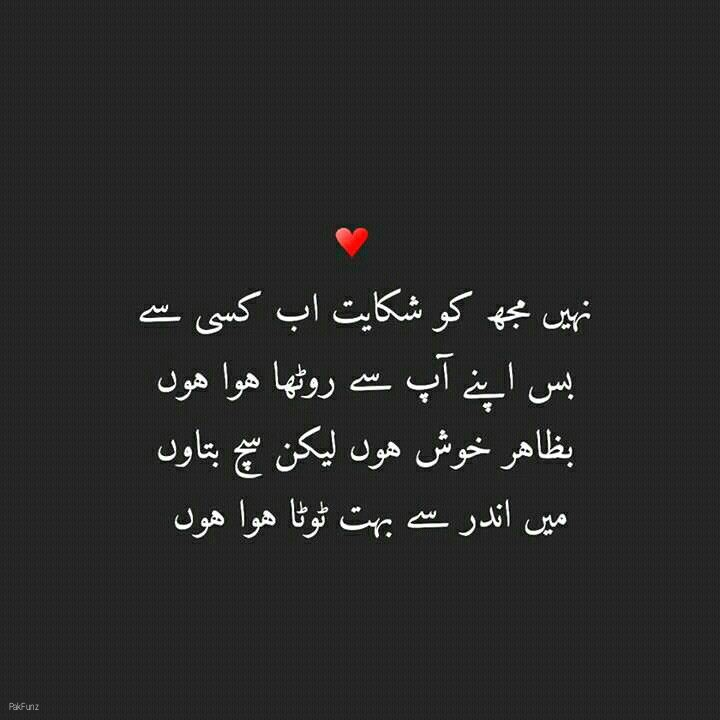 Heart Touching Urdu Poetry And Thoughts