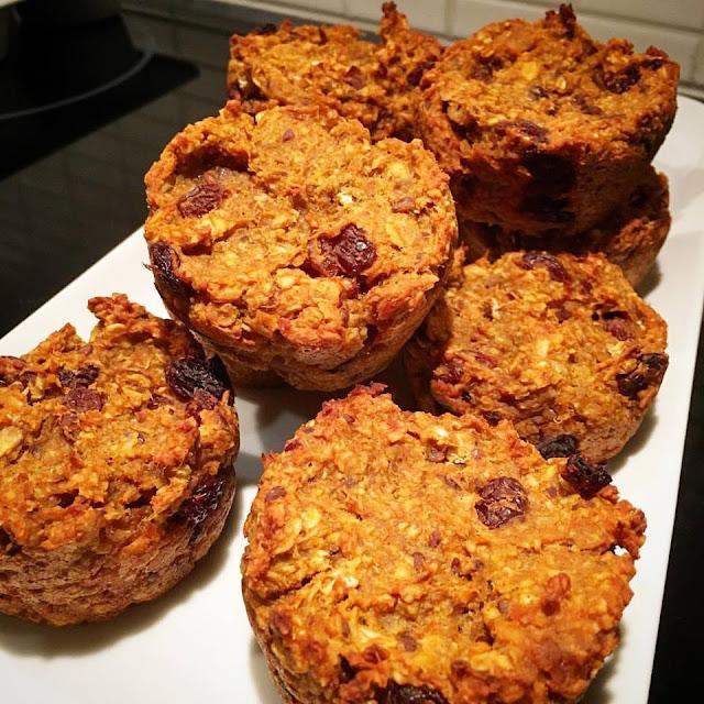 Sötpotatismuffins - utan vete, socker, ägg eller mjölk