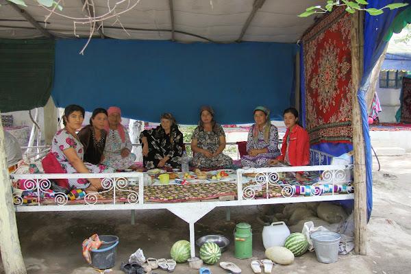 Ouzbékistan, Hazrat-Davoud, tapshan, tapchane, © L. Gigout, 2012