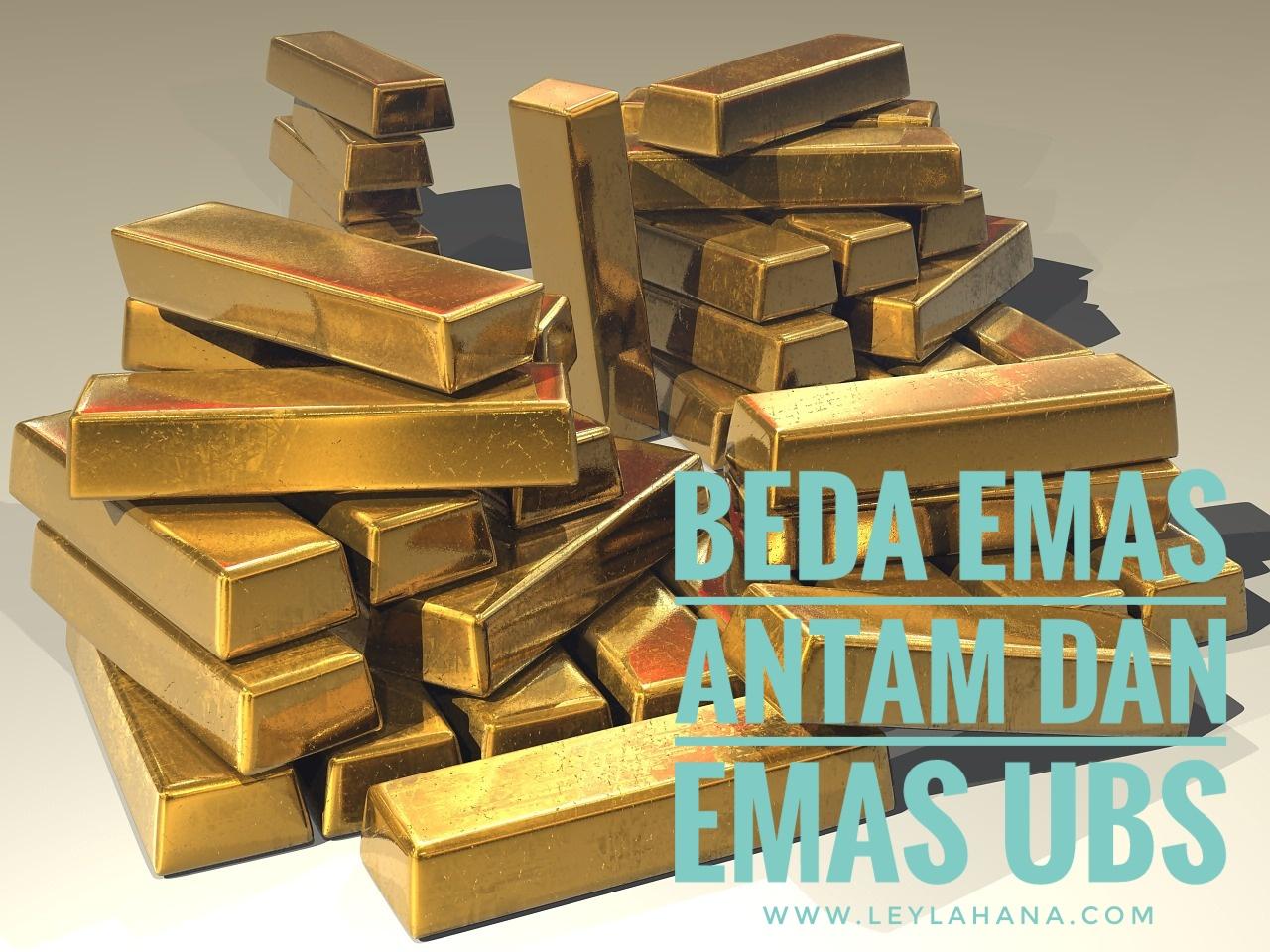 Jual Emas Antam Mengetahui Perbedaan Emas Antam Dan Emas Ubs