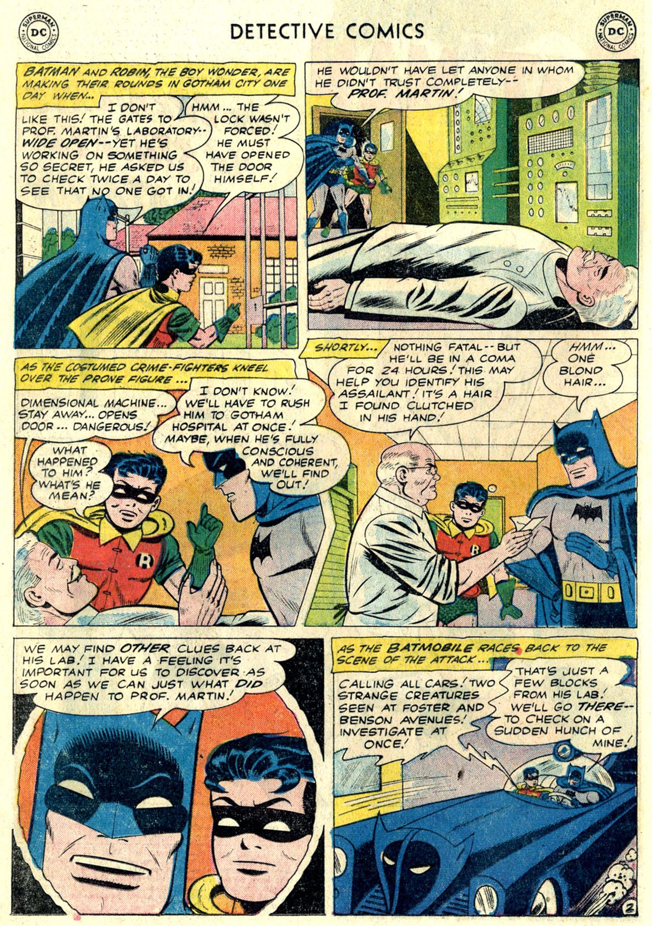 Detective Comics (1937) 279 Page 3