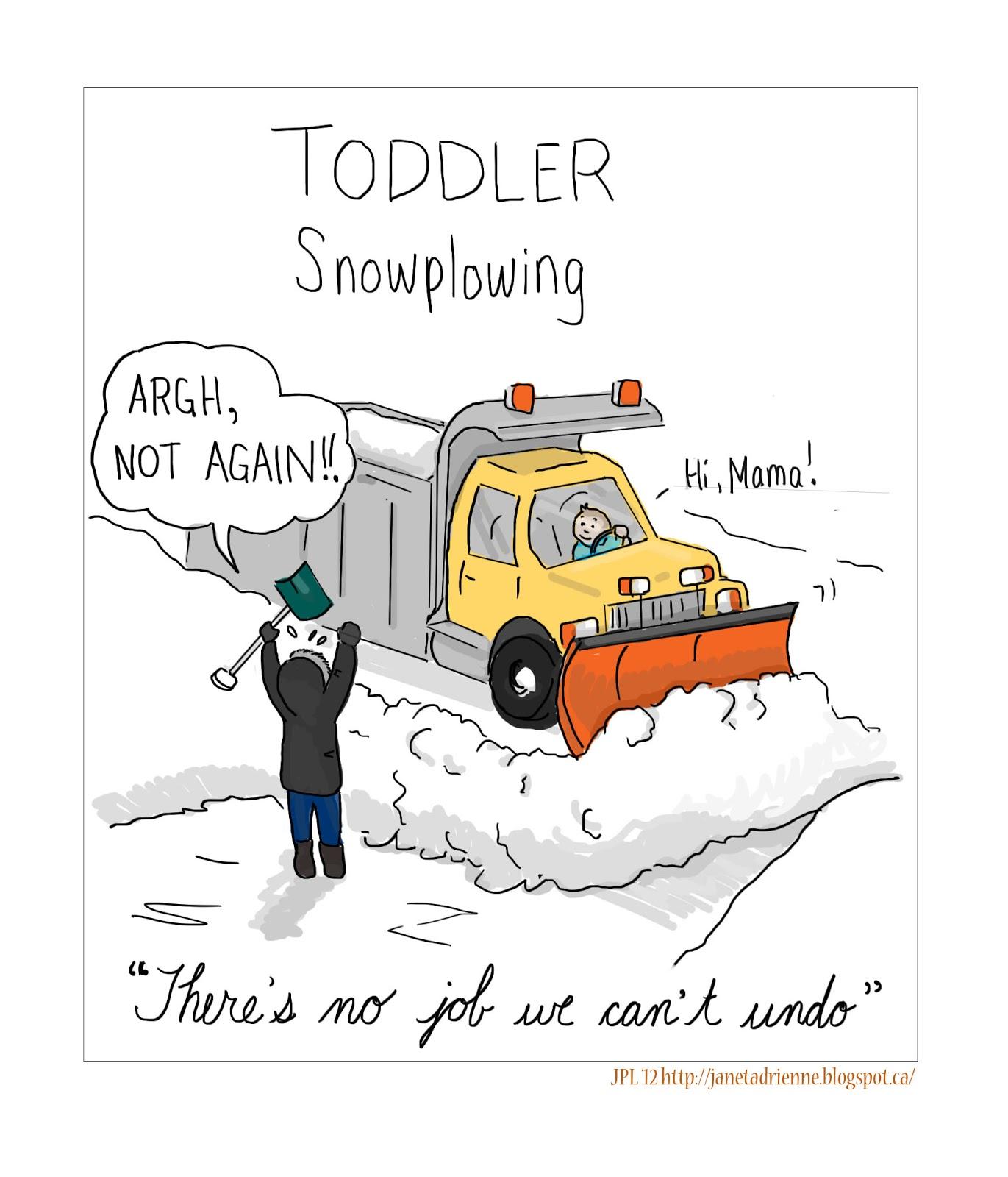 cartoon coloured glasses shoveling metaphors