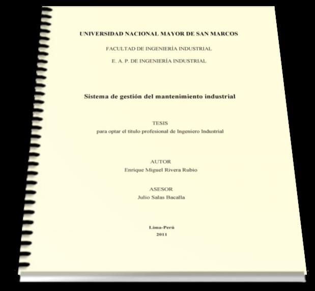 Sistema de gestión del mantenimiento industrial – Enrique Miguel Rivera Rubio