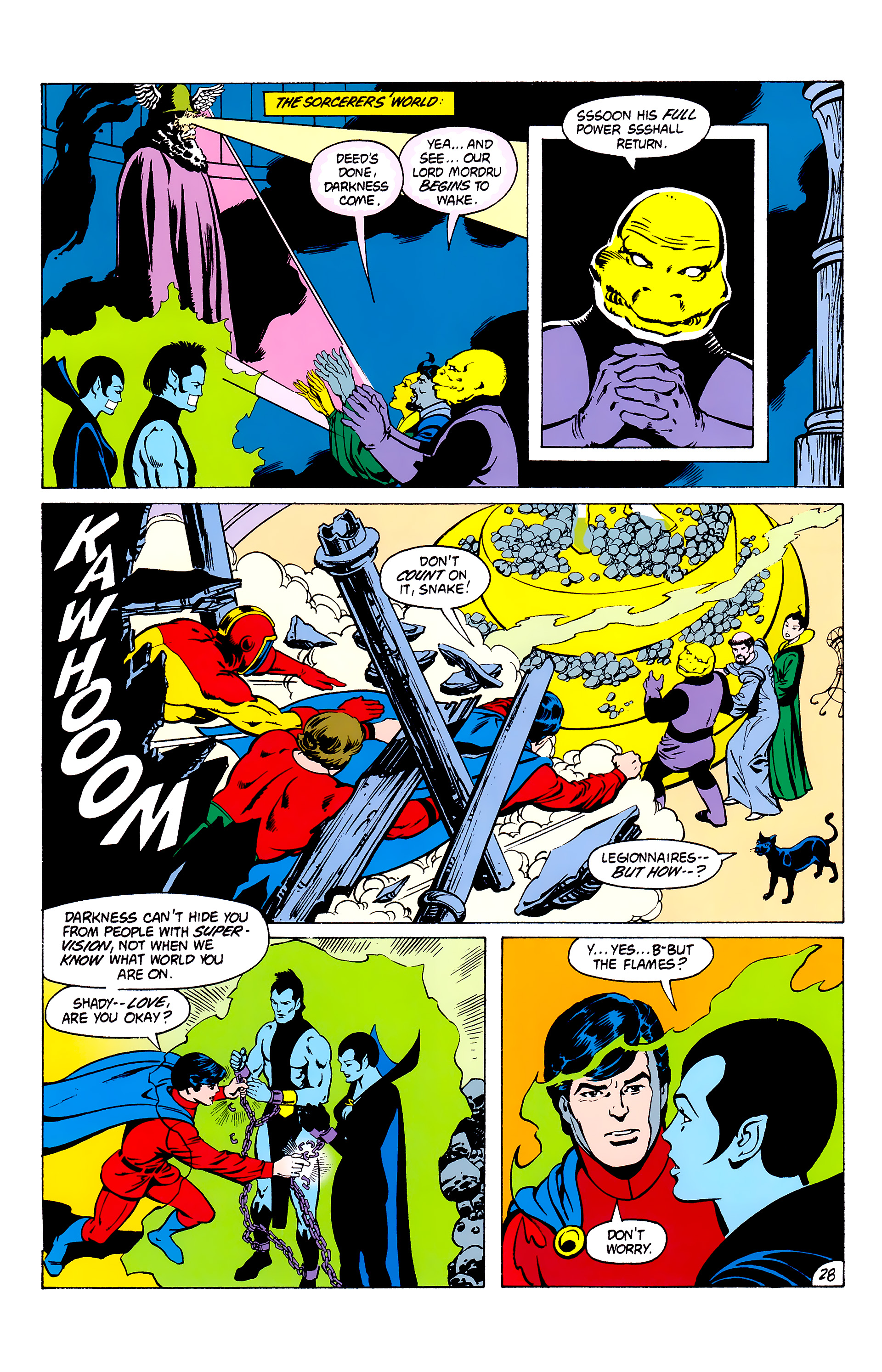 Legion of Super-Heroes (1980) _Annual_3 Page 28