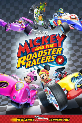 Mickey and the Roadster Racers [2017] [DVDR] [NTSC] [Latino]