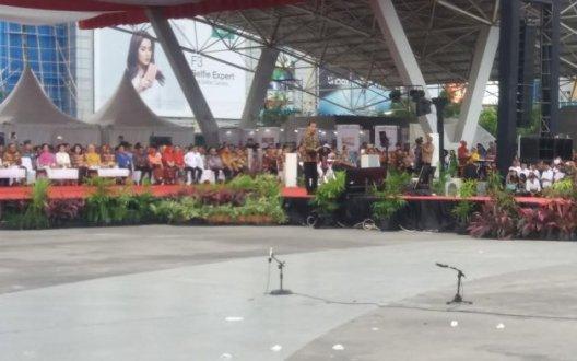 Bupati Kep. Selayar, Hadiri Puncak Peringatan HARKOPNAS Ke 70 Di Makassar