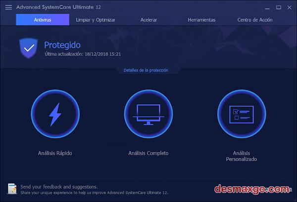 Advanced SystemCare Ultimate 12.3.0.159 en Español [Full] [Crack]