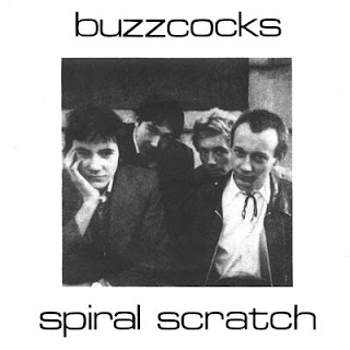 Buzzcocks, Spiral Scratch, front sleeve
