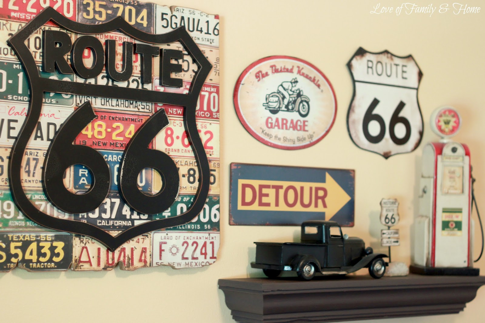Completely new Route 66 Nursery & Gallery Wall.. - Love of Family & Home UZ78