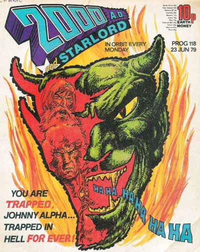 2000 AD, Prog 118, Johnny Alpha
