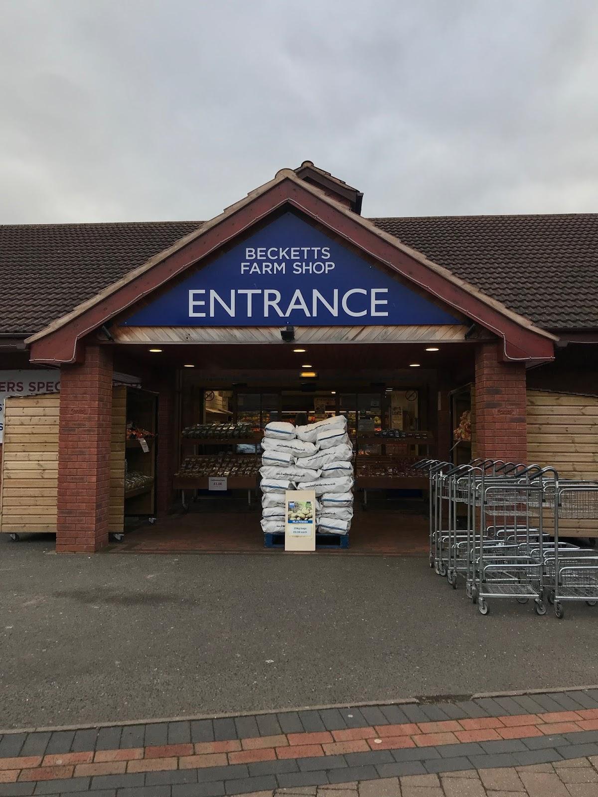 Becketts Farm Shop Entrance