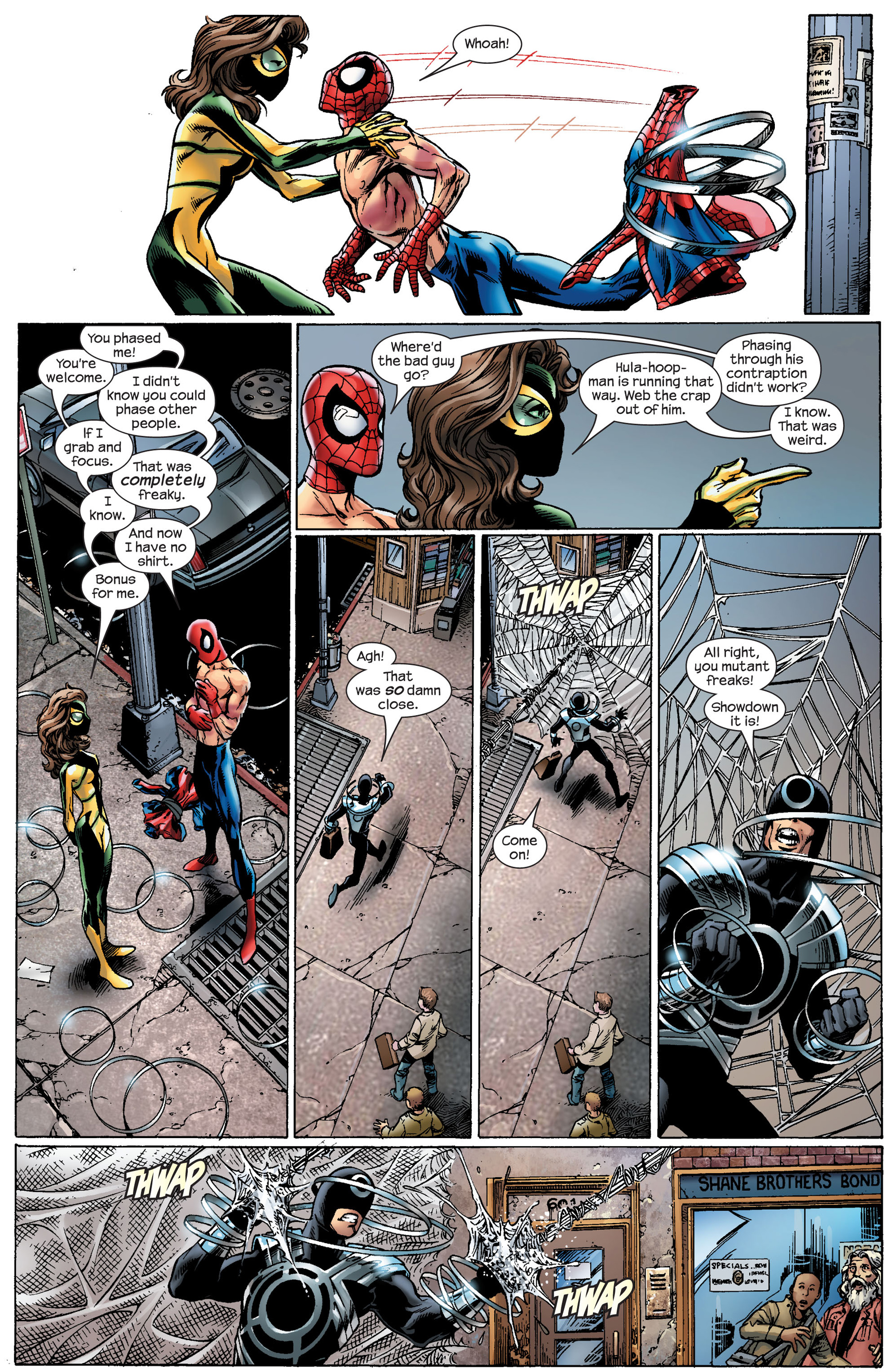 Read online Ultimate Spider-Man (2000) comic -  Issue #91 - 7