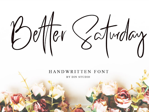Better Saturday - Classy Handwritten Font Free Download