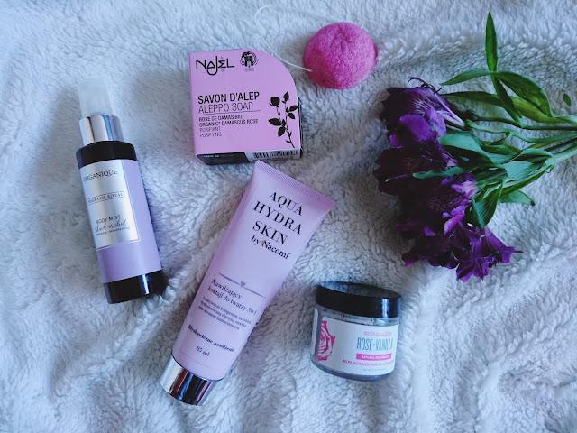 kosmetyki naturalne, minimalizm, porządki