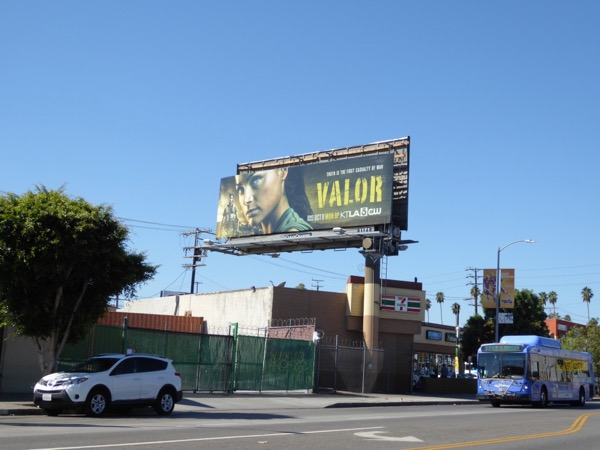Valor series launch billboard