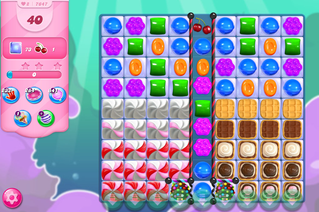 Candy Crush Saga level 7647