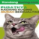 PROMO Kandang Kucing Aluminium, GARANSI 3 TAHUN !!!