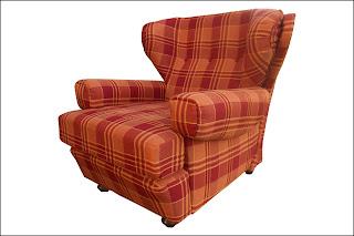 renat 39 art deux fauteuils oreilles. Black Bedroom Furniture Sets. Home Design Ideas