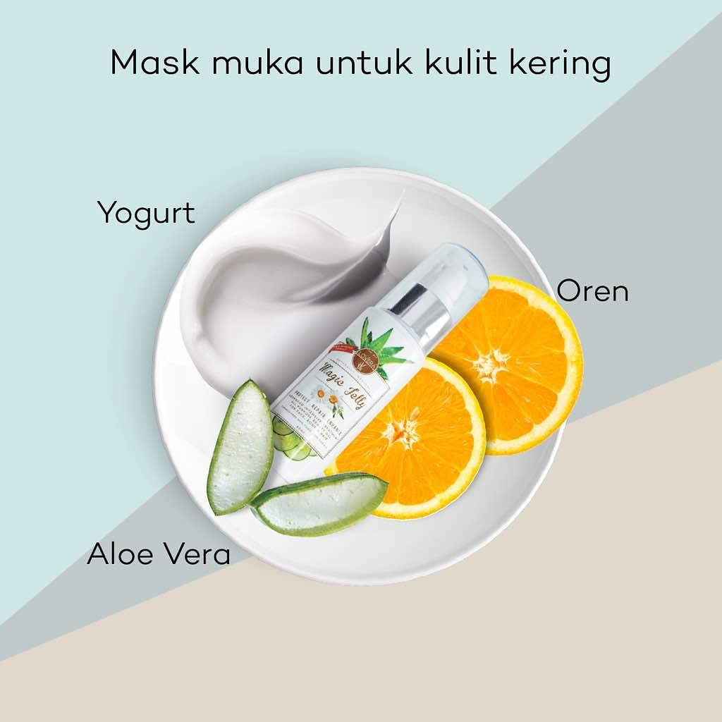 Kulit Kering Hilang dengan Magic Jelly Lovera - Ayue Idris