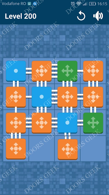 Connect Me - Logic Puzzle Level 200 Solution, Cheats, Walkthrough for android, iphone, ipad and ipod