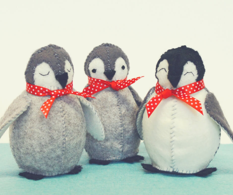 Christmas Gift Ideas For Your Mum And Dad | A new hobby for mum in the form of cute little felt penguins.