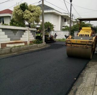 Alat Berat Pengaspalan Jalan Hotmix, Pengaspalan Jalan Hotmix