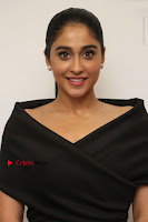 Actress Regina Candra Pos in Beautiful Black Short Dress at Saravanan Irukka Bayamaen Tamil Movie Press Meet  0002.jpg