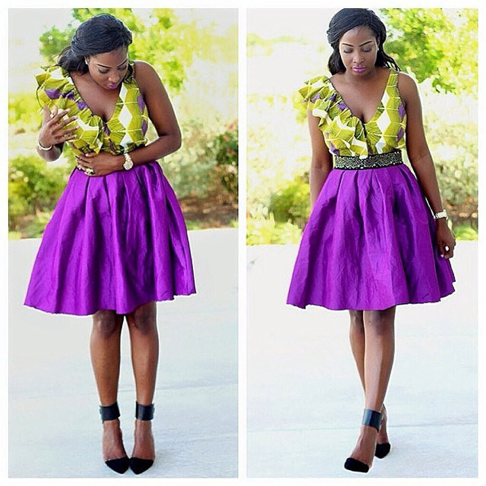 plain and pattern ankara styles (5)