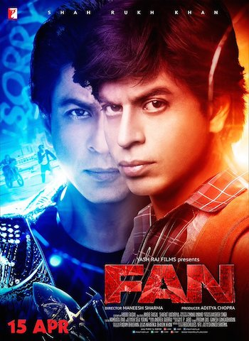 Fan 2016 Hindi HDRip x264 700MB